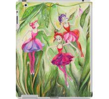 Fuchsia dancers iPad Case/Skin