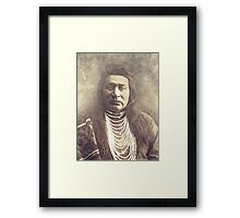 Indian Chief 5 Framed Print