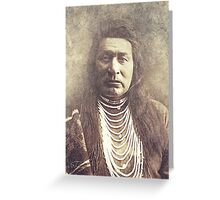 Indian Chief 5 Greeting Card