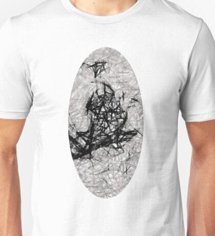 Monochrome Oblong Unisex T-Shirt