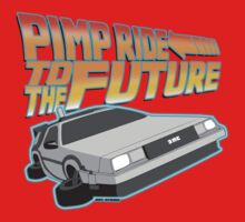 Pimp Ridin' to the Future One Piece - Short Sleeve