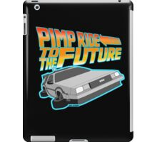 Pimp Ridin' to the Future iPad Case/Skin