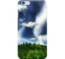 Cacophony of Clouds Over Hobart Hill iPhone Case/Skin