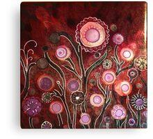 """Enchanted Garden"" - Unique Original Artist's Design Canvas Print"