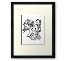 Lonely Angel Framed Print