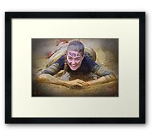 Tough Mudder Framed Print