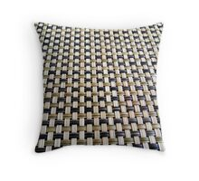 The Wooden Stripes - CaMERA23 Throw Pillow