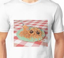 The Rise of the Spaghetti Monster Unisex T-Shirt