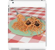 The Rise of the Spaghetti Monster iPad Case/Skin