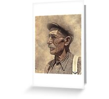 Farmer Joe Greeting Card
