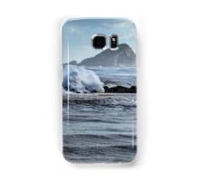 Big ocean waves and spray Samsung Galaxy Case/Skin