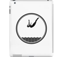 Womens Diving iPad Case/Skin
