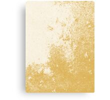 Earth Sweat Design (Spicy Mustard Color) Canvas Print