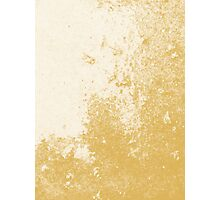 Earth Sweat Design (Spicy Mustard Color) Photographic Print