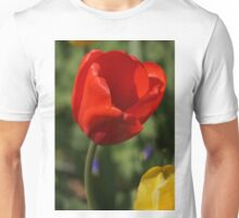 Red Tulip with Friend Unisex T-Shirt