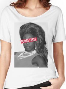 purse first!! Women's Relaxed Fit T-Shirt