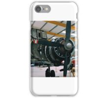 Vickers Varsity engine service iPhone Case/Skin