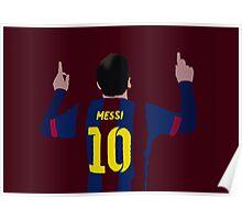Messi- 10 Poster