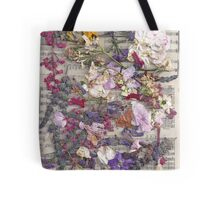 Flowers and Schubert  Tote Bag