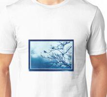 Cyanotype Print Unisex T-Shirt