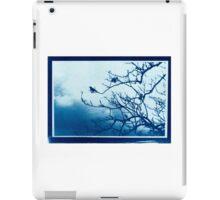 Cyanotype Print iPad Case/Skin