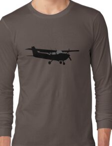 Cessna Aircraft Rider Long Sleeve T-Shirt