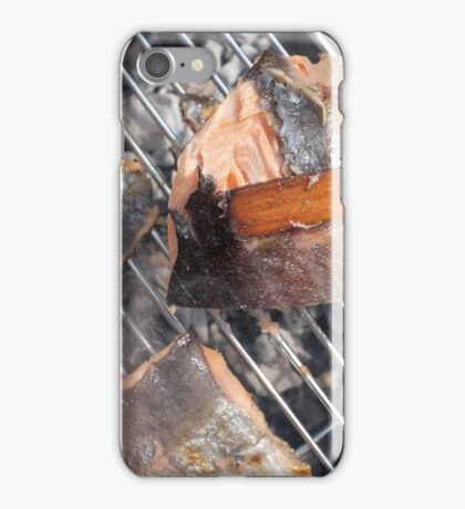 Fresh pork meat with vegetables iPhone Case/Skin