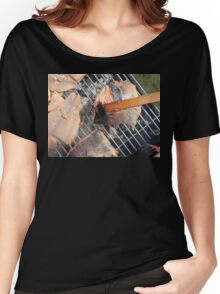 Fresh pork meat with vegetables Women's Relaxed Fit T-Shirt