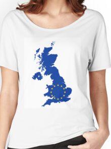 UK belongs in the EU Women's Relaxed Fit T-Shirt