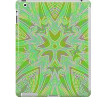 Rainy Day Green Mandala iPad Case/Skin
