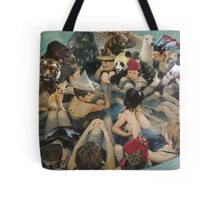 Person Pitch Tote Bag