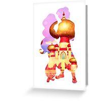 Arabian Princess Character Inspired Home Greeting Card