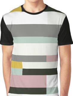 Retro Texture Pattern Graphic T-Shirt