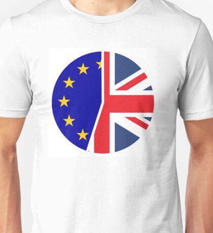 UK and EU Referendum Unisex T-Shirt