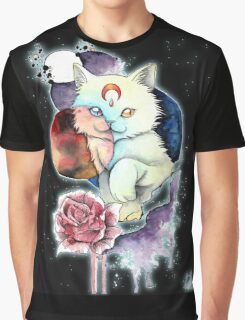 Cat space Graphic T-Shirt