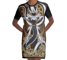 Rule 63: Arceus Graphic T-Shirt Dress