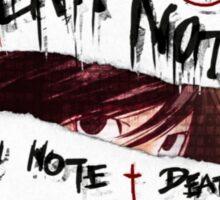 <DEATH NOTE> Graphic Death Note Sticker