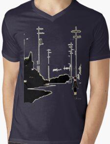 Lain Mens V-Neck T-Shirt
