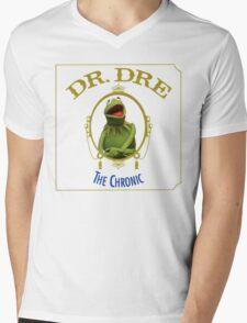 Kermit the chronic Mens V-Neck T-Shirt