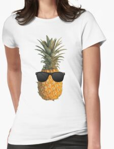 Pineapple sun Womens Fitted T-Shirt