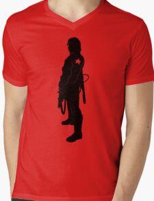 What Bucky Clause? (light shirts) Mens V-Neck T-Shirt