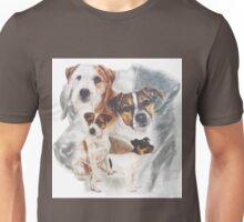 Parson (Jack) Russell Terrier w/Ghost Unisex T-Shirt