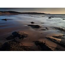 red point beach Photographic Print