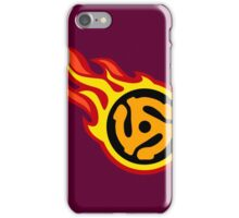 45 Spacer On Fire iPhone Case/Skin