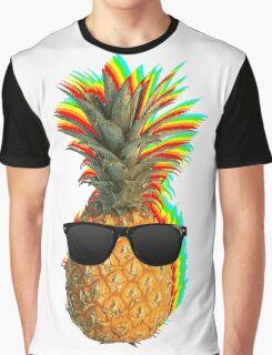 Pineapple Fun Graphic T-Shirt