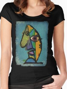 picasso graffiti # 7 Women's Fitted Scoop T-Shirt