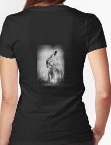 Dark Hare Womens Fitted T-Shirt