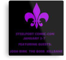 Steelport Comic Con Metal Print