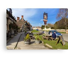 The Longs Arms Pub, Steeple Ashton, Wiltshire, UK Canvas Print