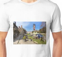The Longs Arms Pub, Steeple Ashton, Wiltshire, UK Unisex T-Shirt